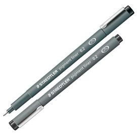 Pennarello Pigment Liner 308 nero 0,2mm Staedtler