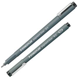 Pennarello Pigment Liner 308 nero 0,5mm Staedtler