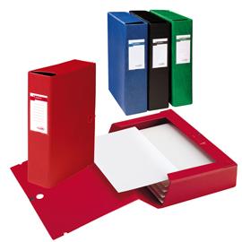 Scatola archivio Scatto 80 25x35cm verde Sei Rota