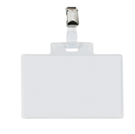 100 portanome Pass 4E 11x7cm c/clip in metallo Sei Rota