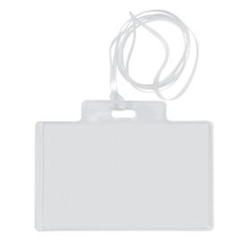 100 portanome Pass 3EC 9,5x6cm c/cordoncino Sei Rota