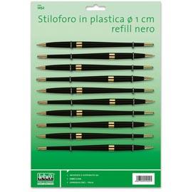 CARTELLA 10 STILOFORI ART.1052 IN PLASTICA