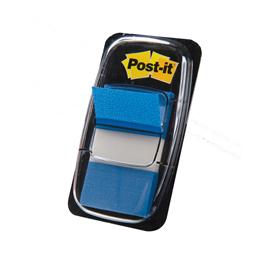 SEGNAPAGINA Post-it® 680-2 BLU 25.4X43.6MM 50FG INDEX