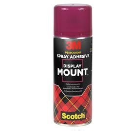 ADESIVO SPRAY 3M DISPLAY MOUNT ADESIONI AFFIDABILI E IMMEDIATE 400ML