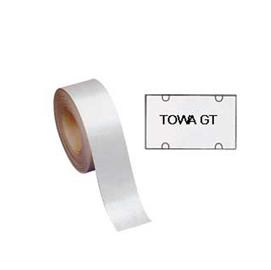 Rotolo 700 etichette 30x18 bianche rettangolari rimovibili x TOWA GT (Conf. 14)