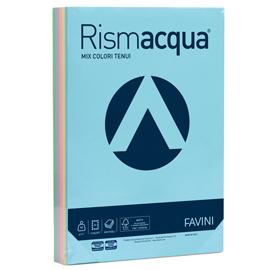 Carta RISMACQUA 90gr A4 300fg mix 5 colori FAVINI