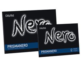 Album PRISMANERO 10fg 128gr 24x33cm monoruvido FAVINI
