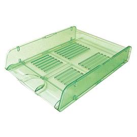 Vaschetta portacorrispondenza Trasparent Colors verde ARDA (Conf. 10)