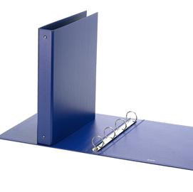 Raccoglitore Europa 4010 22x30mm 4R dorso 30 blu Favorit
