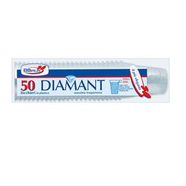 50 BICCHIERI 300CC (L) DIAMANT MONOUSO DOPLA