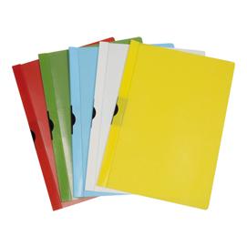 CARTELLINA PVC C/MOLLA DORSO 5 BLU SPRING FILE 22X31 (Conf. 5)