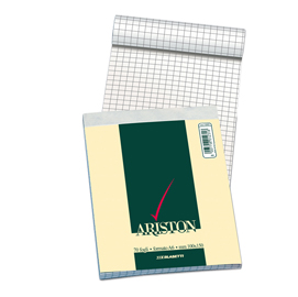 Blocco note 150x210mm 5mm 60gr 70fg ariston blasetti