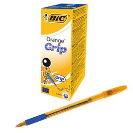 Scatola 20 penna sfera ORANGE® GRIP 0,8mm blu BIC®