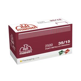SCATOLA DA 2500 PUNTI 35/15 15MM RAME RO-MA X ROMABOX
