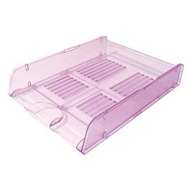 Vaschetta portacorrispondenza Trasparent Colors viola ARDA (Conf. 10)