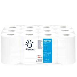 Asciugamani in rotolo MINI 210 strappi Ø 14,5cm Centrefeed Papernet