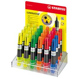 display 24 Evidenziatore Luminator Stabilo