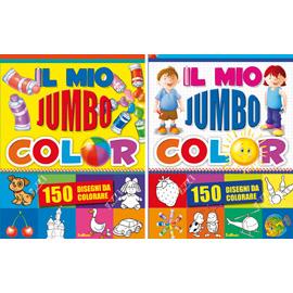 Album da colorare - il mio jumbocolor 1/2 n.e.