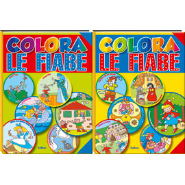 Album da colorare - colora le fiabe 1/2 n.e.
