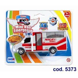 Macchinina mini van emergenza - motorizzato a frizione