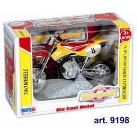 Macchinine motorcast two wheels - motocross