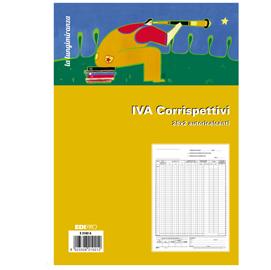 REGISTRO PRIMA NOTA IVA CORRISPETTIVI 29,7X23 25/25 FG AUTORIC. E2102A