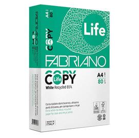 CARTA RICICLATA COPY LIFE A4 80GR 500FG FABRIANO (Conf. 5)
