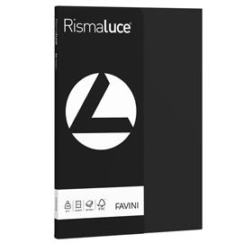 Carta RISMALUCE SMALL A4 200gr 50fg nero 63 FAVINI
