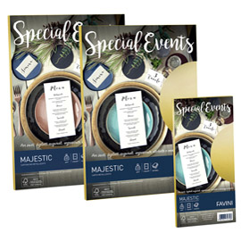 Carta metallizzata special events 120gr a4 20fg rosa 05