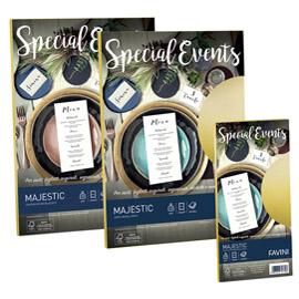 Carta metallizzata special events 120gr a4 20fg azzurro 02