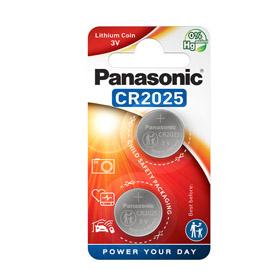 BLISTER 2 MICROPILE A PASTIGLIA CR2025 LITIO 3V