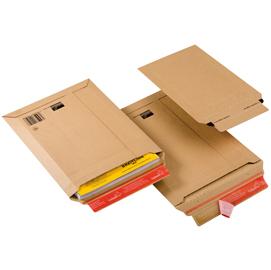 Busta a sacco in cartone a5 185x270x50mm adesivo perm.