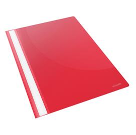 Cartellina ppl con fermafogli 21x29,7 rosso report file esselte