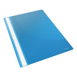 Cartellina ppl con fermafogli 21x29,7 azzurro report file esselte