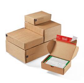 SCATOLE SPEDIZIONE MODULBOX 19,2X15,5X4,3CM AVANA (Conf. 20)