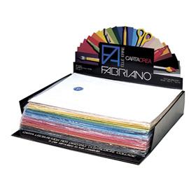 Expo 260 cartoncino 35x50cm 220gr ass. in 25 colori Cartacrea Fabriano