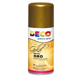 Vernice spray oro 150ml 615/1 CWR