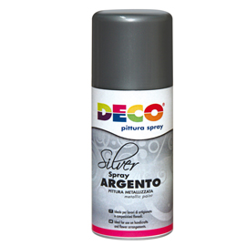 Vernice spray argento 150ml 615/2 CWR