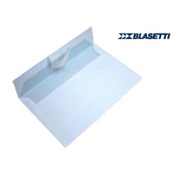 500 BUSTE BIANCHE 120X180MM 80GR C/STRIP BLASETTI