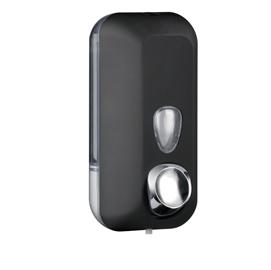 Dispenser sapone liquido 0,55lt nero Soft Touch
