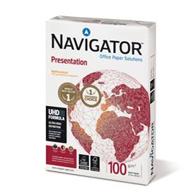 CARTA NAVIGATOR presentation A4 100GR 500FG 210X297MM (Conf. 5)