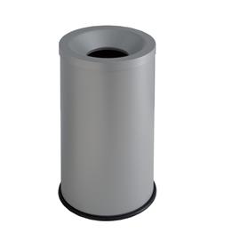 Gestino gettacarte autoestinguente 15lt grisu' grigio