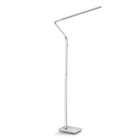 LAMPADA DA TERRA A LED FLOOR READING LAMP GRIGIO METAL CEP