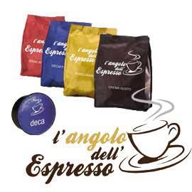 Capsula caffe' decaffeinato l'angolo dell'espresso