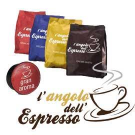 Capsula caffe' gran aroma l'angolo dell'espresso