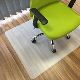 Tappeto chair mat salvapavimenti 90x120cm in vinile velcoc