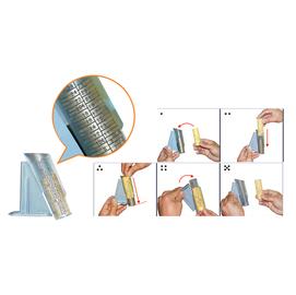 SET 8 TUBI per SEPARA MONETE CM018/CM020