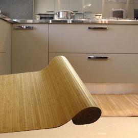 Tappeto in bamboo naturale 60x120cm