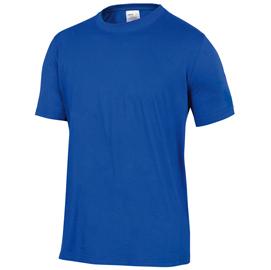 T-Shirt BASIC Napoli BLU Tg. L 100 COTONE