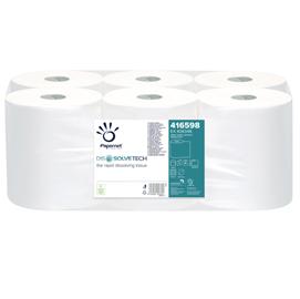 Rotolo asciugamani Autocut Microgoffrato 2veli Ø18,5cm DissolveTech Papernet (Conf. 6)